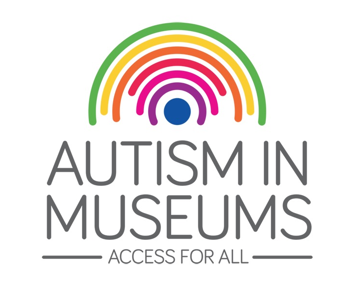 The Autism in Museums logo.