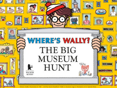 Where's Wally? The Big Museum Hunt logo.